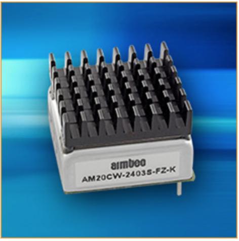 AIMTEC: nuovo DC-DC converter da 20 watt