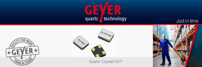 GEYER: Quartz Crystals and Oscillators without an expiry date