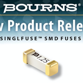 BOURNS SINGL-FUSE PRODUCT LINE ANNOUNCES NEW TELEFUSE-TM TELECOM PROTECTORS