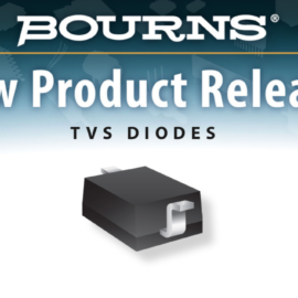 BOURNS INTRODUCES NEW AEC-Q101 COMPLIANT TVS DIODE PRODUCTS