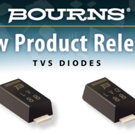 BOURNS: NEW DISCRETE TVS DIODE PRODUCTS